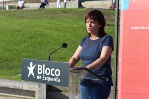 Catarina Martins, porta-voz do Bloco de Esquerda