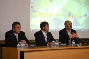 Luís Marques (AETUR), José Maria Magalhães (CMVR), Artur Cristóvão (UTAD)