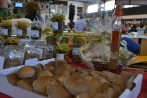 Expositor de Cogumelos Shiitake/ Foto: Salomé Ferreira