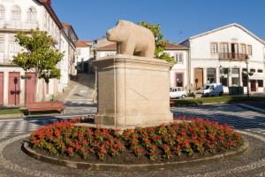 Símbolo do concelho, a Porca de Murça