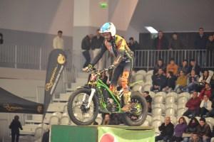 Diogo Vieira, campeão de  Trial Indoor 2015