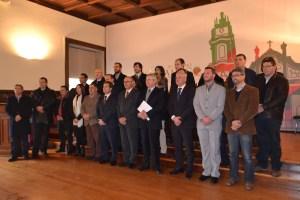 O protocolo foi assinado no Salão Nobre da Câmara Municipal de Lamego