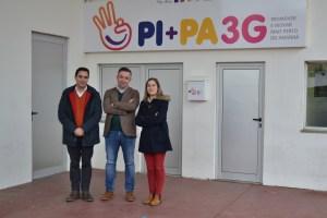 Filipe Donas Botto (psicólogo), Eduardo Pinto (coordenador) e Helena Lopes (socióloga)/Foto: Salomé Ferreira