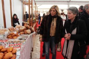 A Vice Presidente da Diputation de Salamanca esteva presente na inauguração ao lado de Maria do Céu Quintas/ Foto: Salomé Ferreira