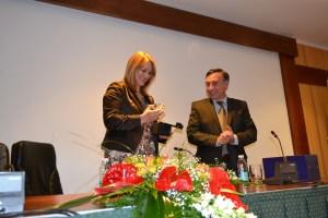 Helena Mesquita Ribeiro, Secretária de Estado da Justiça, marcou presença na inauguração do certame/ Foto: Ana Portela