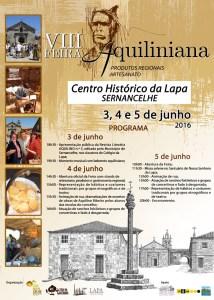 Cartaz da Feira Aquiliniana/ Foto: Direitos Reservados