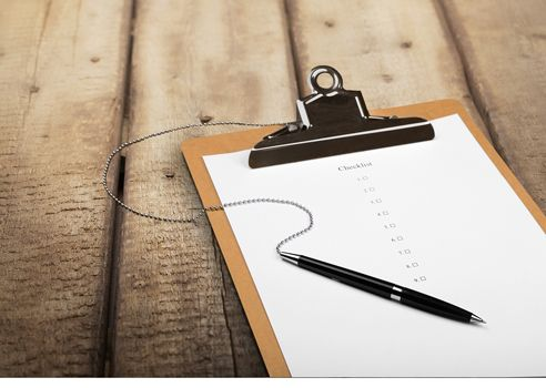 why writers need checklists