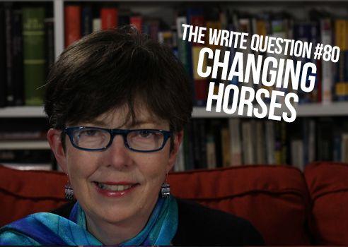change horses midstream