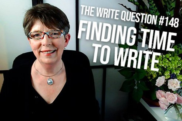 How to find more time to write