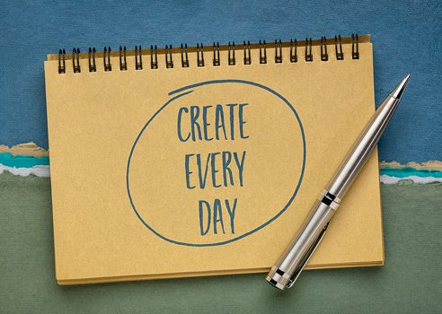 how you can write every day