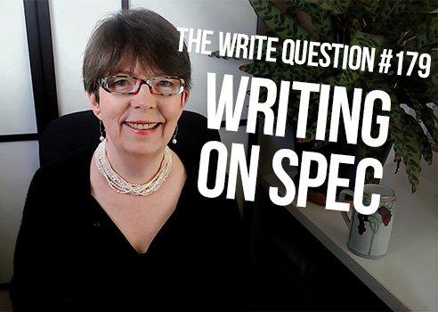 write on spec