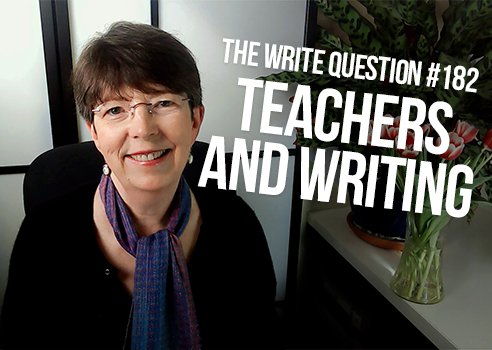 teachers differ from real writers