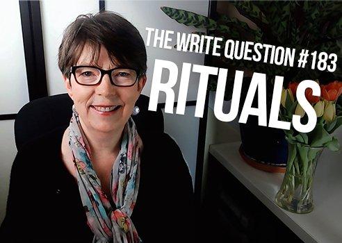 good writing ritual