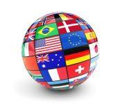 Globe of Flags