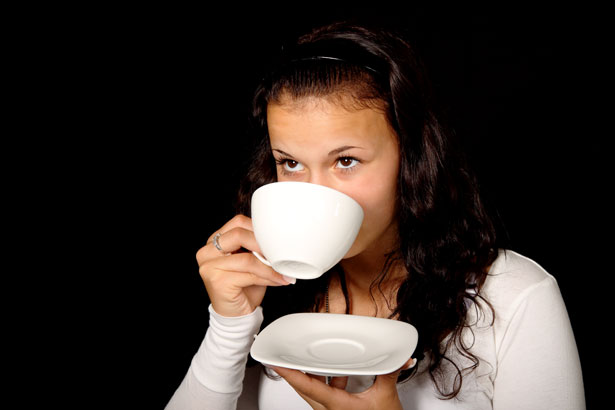 Woman Drinking Coffee Free Stock Photo  Public Domain