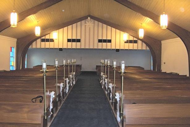church pews free stock