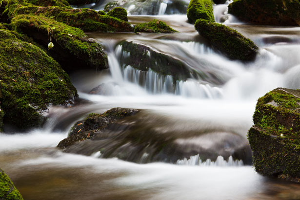 Fall Waterfall Wallpaper Blurred Water Free Stock Photo Public Domain Pictures