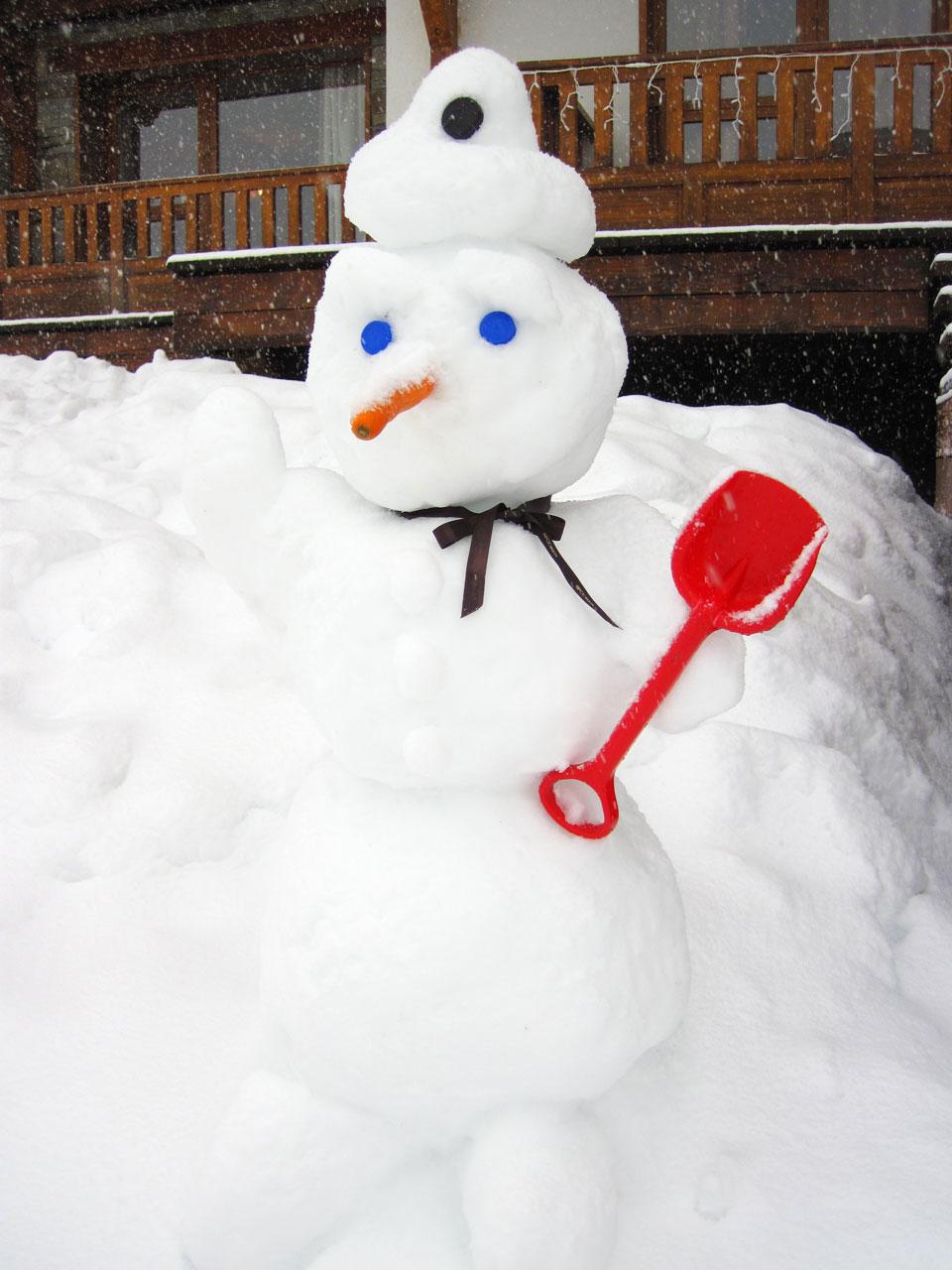 Snowman Free Stock Photo - Public Domain Pictures
