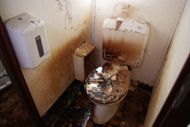 Burnt Toilet Free Stock Photo  Public Domain Pictures