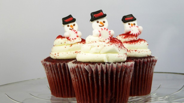 Snowmen Cupcakes Free Stock Photo Public Domain Pictures