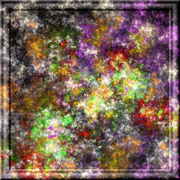 Fractal Mosaic Free Stock - Public Domain