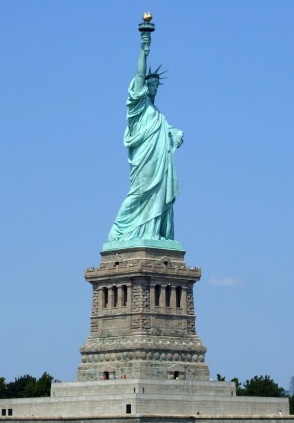 Lady Liberty, Statue of Liberty, Symbol of Freedom and Democracy