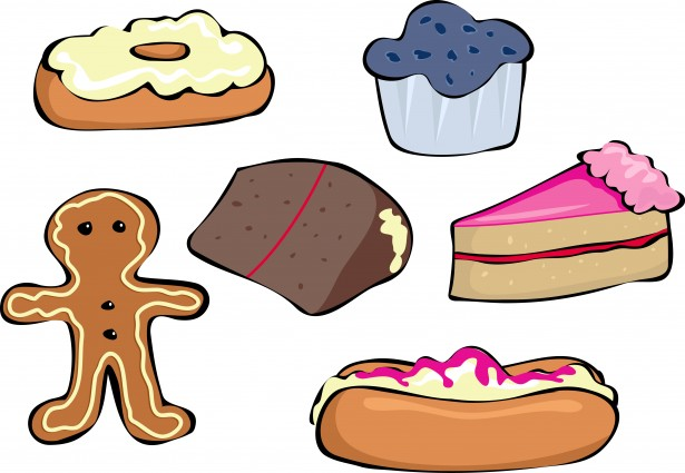 Cakes And Buns Free Stock Photo  Public Domain Pictures