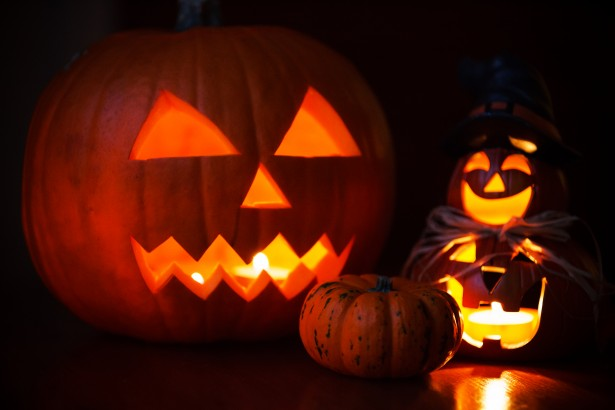 Spooky Fall Wallpaper Halloween Pumpkins Free Stock Photo Public Domain Pictures