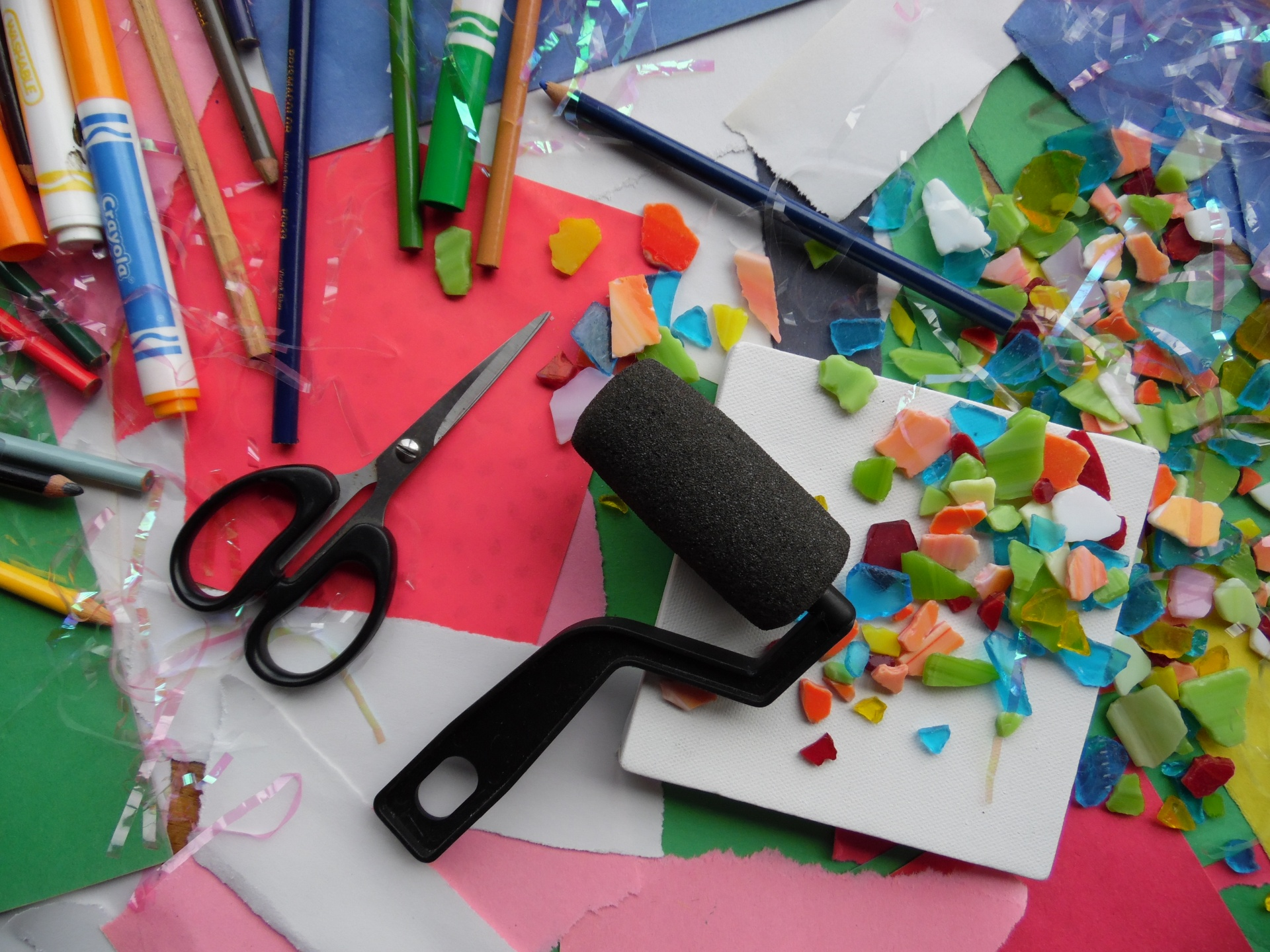 Arts And Crafts Supplies Free Stock Photo  Public Domain Pictures