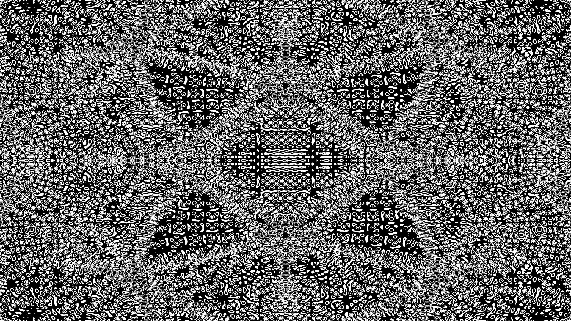3d Illusion Wallpaper Download Black And White Psychedelic Pattern Free Stock Photo