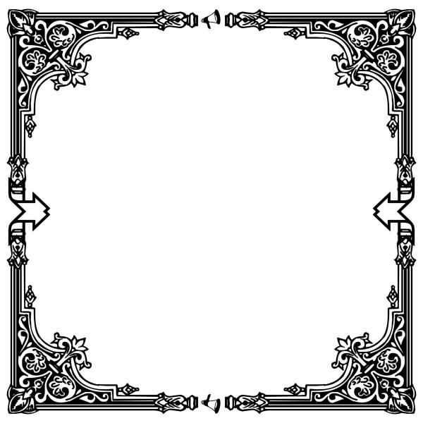 Deco Black Frame Free Stock Photo - Public Domain Pictures