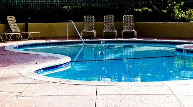 summer chaise lounge chairs tommy bahama dining chair empty swimming pool free stock photo - public domain pictures