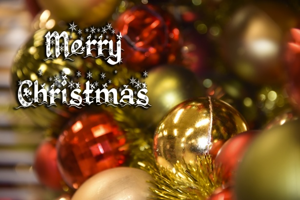 Merry Christmas Greeting Free Stock Photo Public Domain