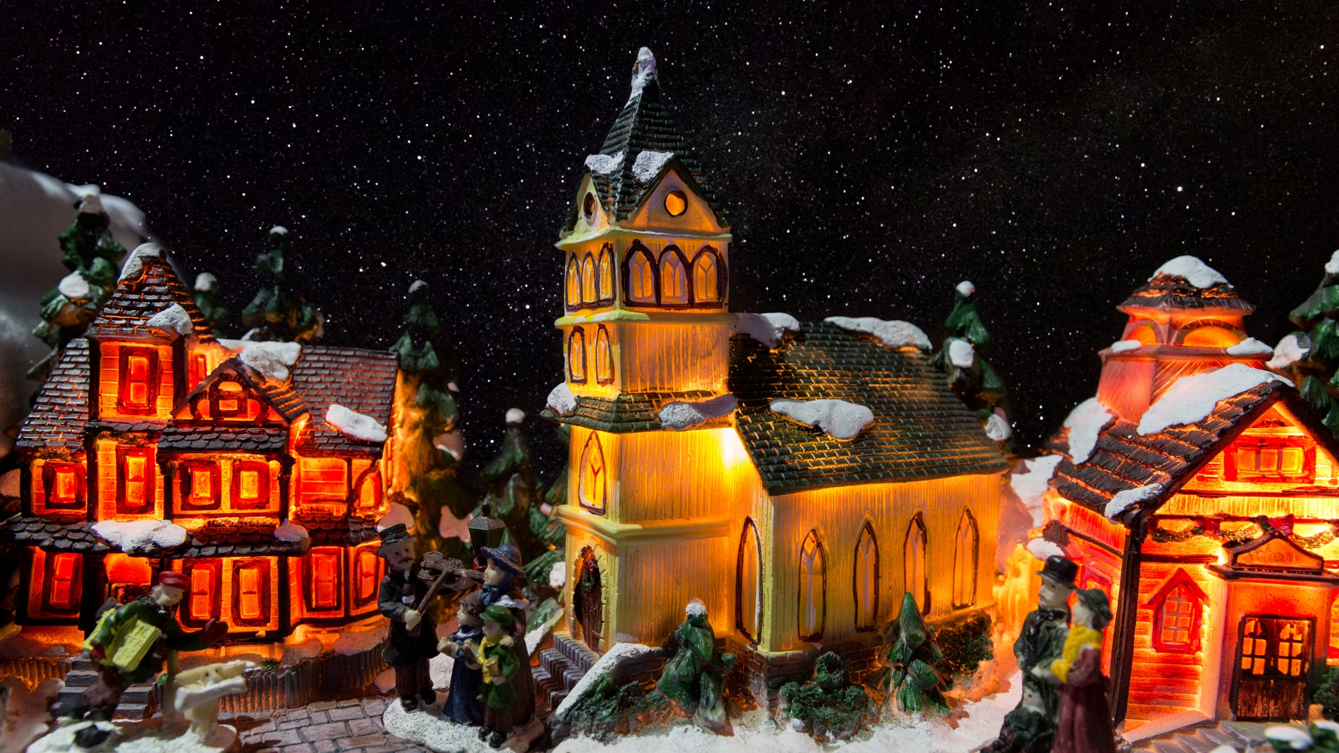 Christmas Village Free Stock Photo  Public Domain Pictures