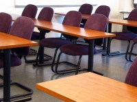 Classroom Tables And Chairs Free Stock Photo - Public ...