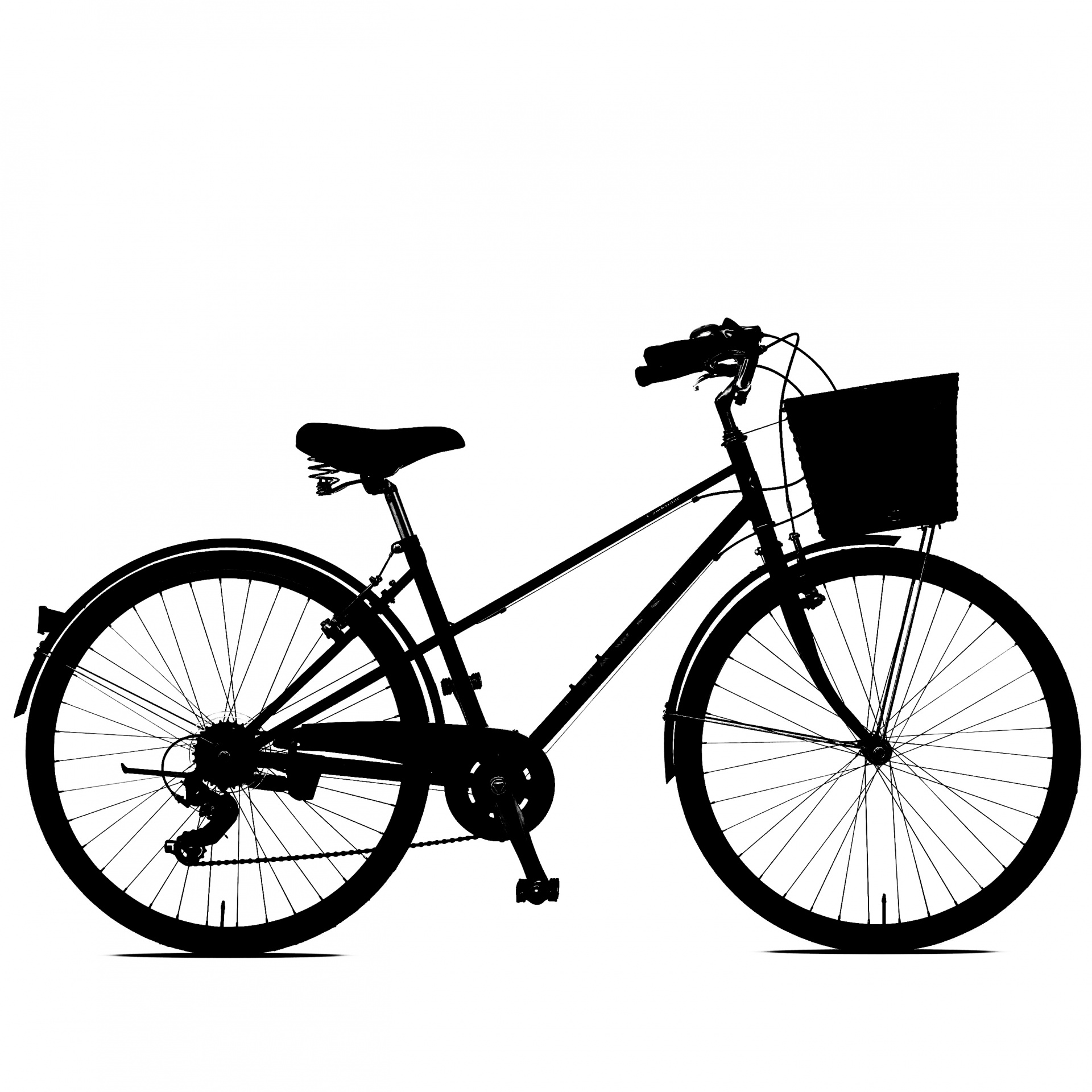 Bicycle Clipart Free Stock Photo