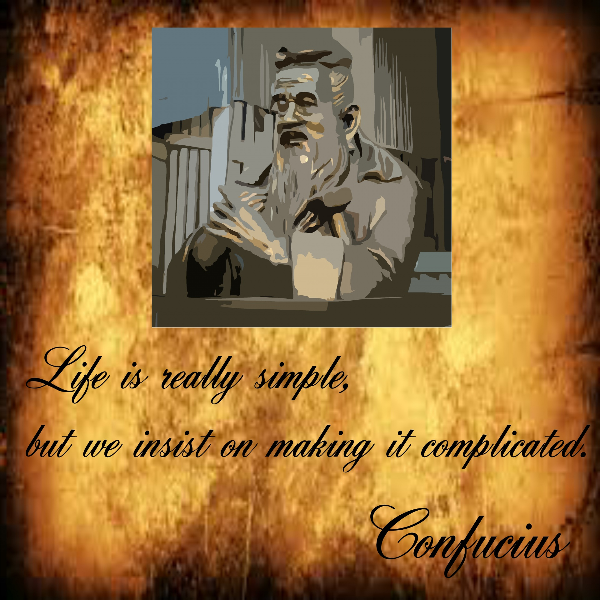 inspirational quote, confucius