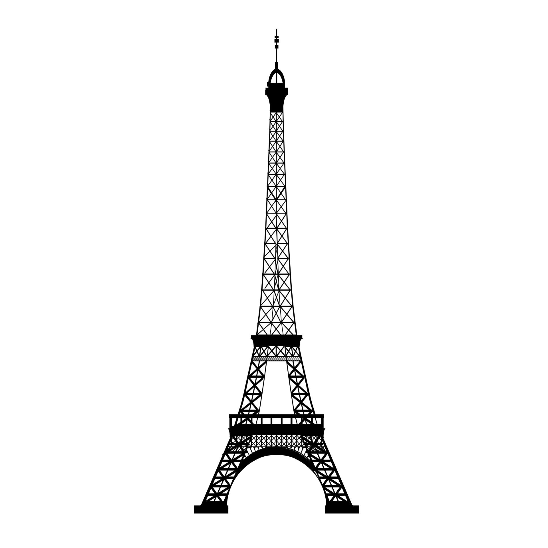 Eiffel Tower Free Stock Photo