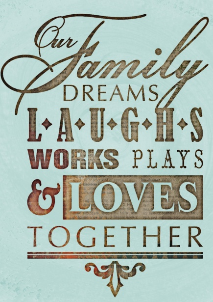 Quote Motivational Family Collage Free Stock Photo  Public Domain Pictures