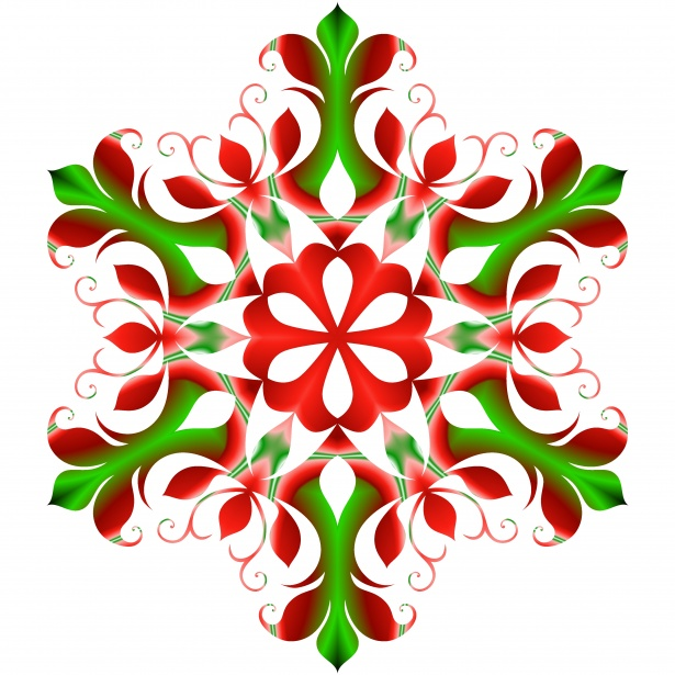 Red Snowflake Free Stock Photo Public Domain Pictures