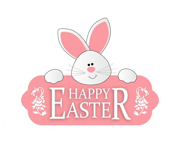 easter bunny cute clipart free