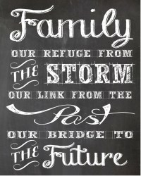 Family Quote Wall Art Design Decor Free Stock Photo ...