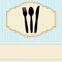 Table Place Setting Invitation Free Stock Photo