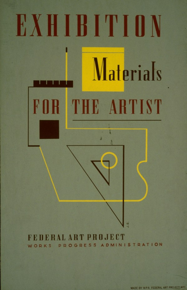 Vintage Art Exhibit Posters