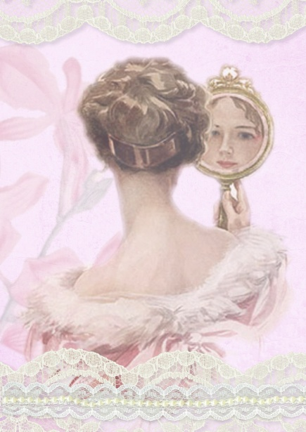 Victorian Lady Vintage Collage Free Stock Photo  Public