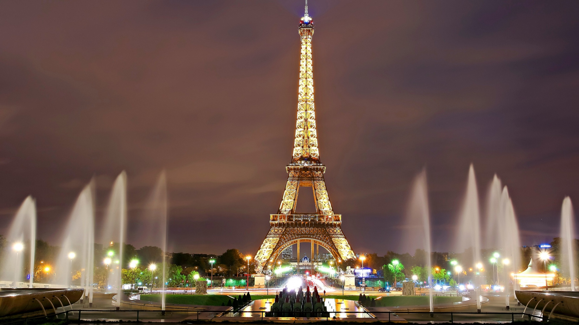Eiffle Tower, Night Lights
