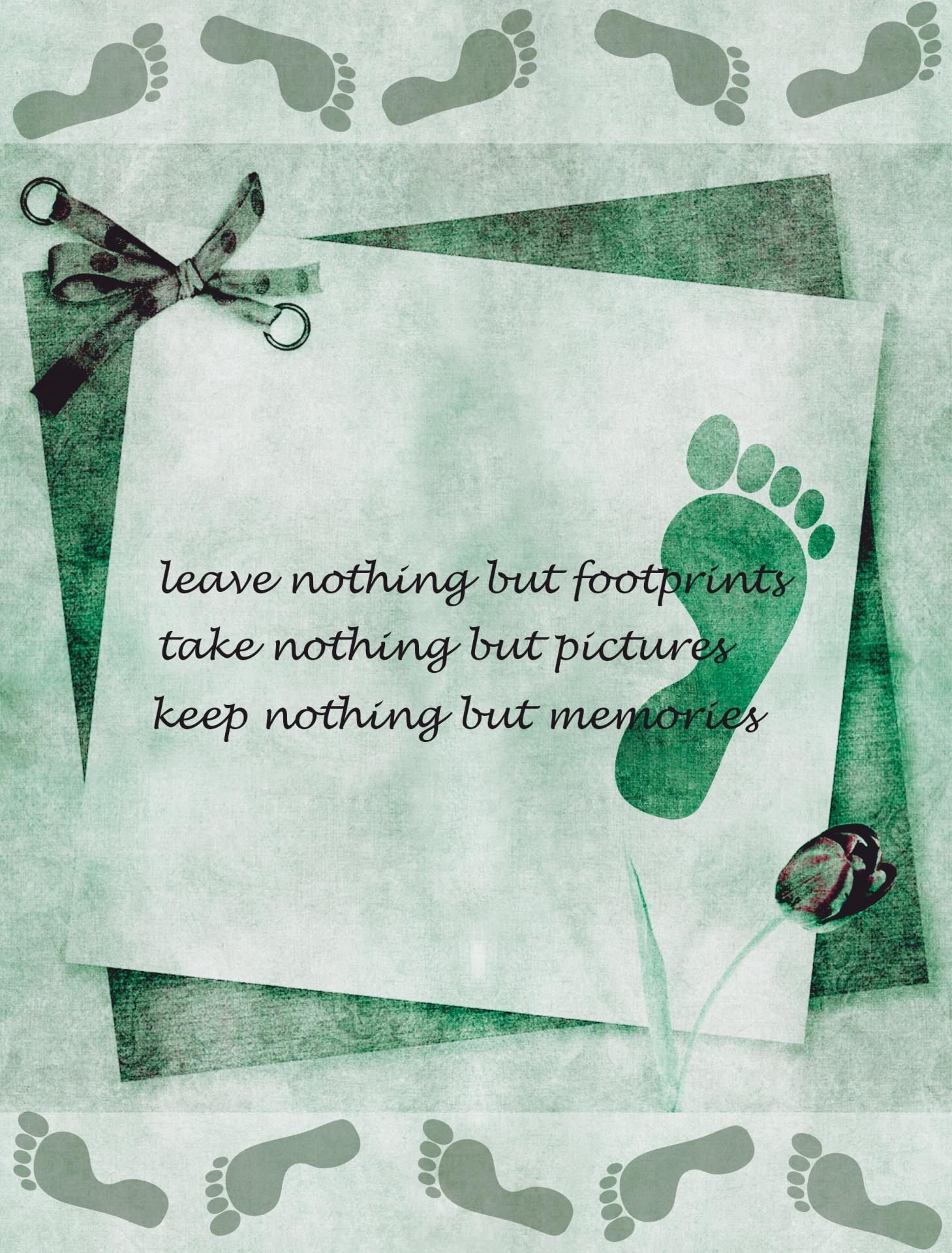 footprints, inspirational, encouragement, motivational