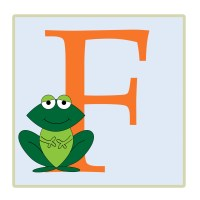 Letter F, Frog Illustration Free Stock Photo - Public ...