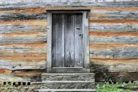 Old Wood Wall And Door Background Free Stock Photo ...