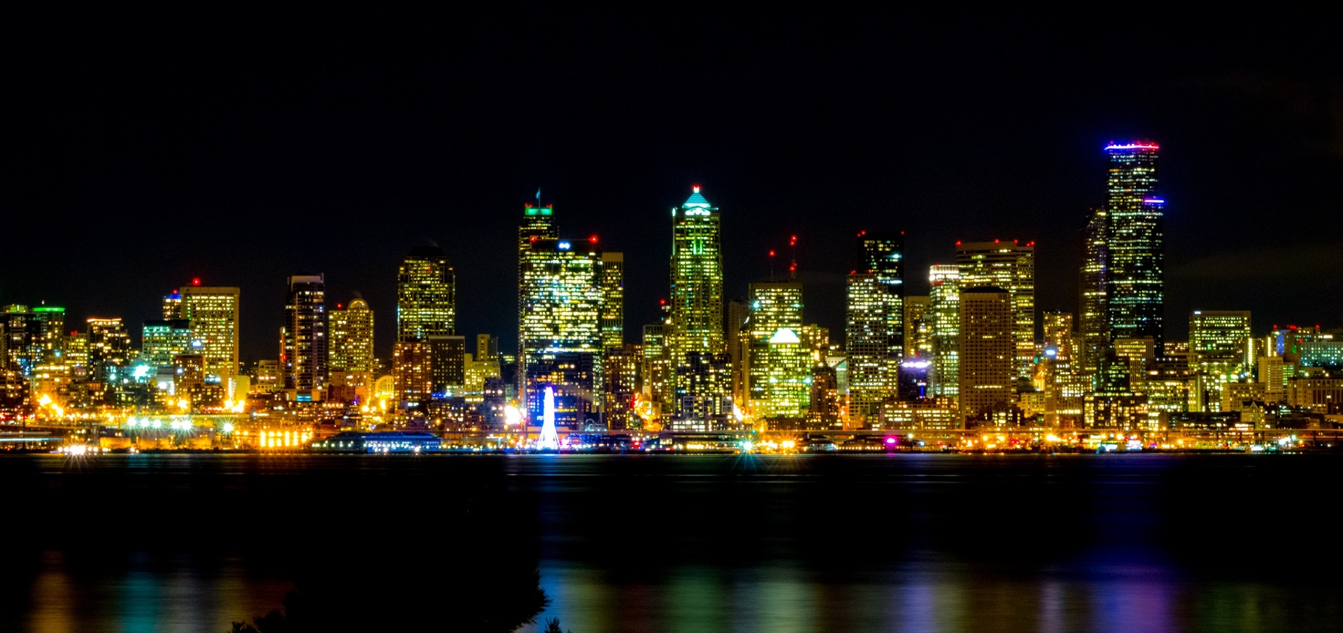 Seattle, Night Lights, City Lights